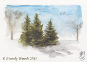 Three Pines by BrandyWoods