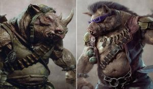 TMNT Movie 2016 Bebop and Rocksteady Concept Art by KillerCroc133166