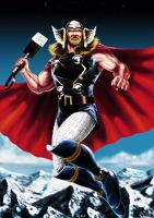 Thor - God of Thunder by Robert-Shane