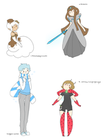 character requests #3 by stickyfruit