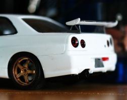 R34 GT-R Nur Edition by xXJohnnnYXx