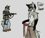 Fedor Again by SimonovFox
