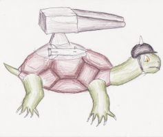 battle turtle by spark300c