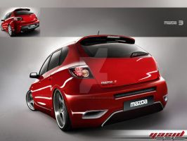 Mazda 3 hatchback by yasiddesign