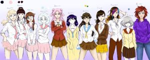 OC Collection by SailorShana8