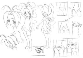 Old Fairy Character Sheet by Goldsickle