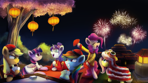 Chinese New Year!! by AnticularPony
