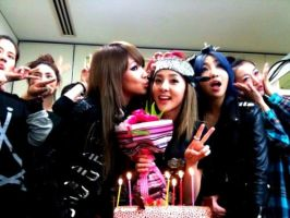 2NE1 Celebrations by snowflakeVIP
