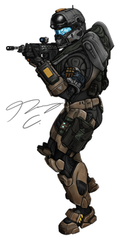 Commission - Spartan Colachsso 2 by Guyver89
