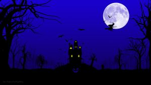 Halloween Wallpaper by HypnoticMystery