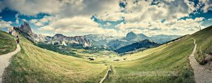 Seceda Pasture by Panomenal