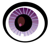 Vinnie's eye (SVG file) by butterflypinky12345