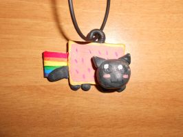 Nyan Cat Necklace by Auphelith