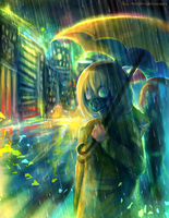 Toxic city by FireFly-Rain