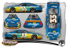 Allegiant Air Chevy Car by graphicwolf