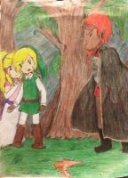 Encounter with the Dark Sorcerer by DreamPuppeteer