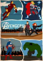 Team Up: Avengers by GTR26