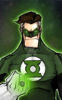 green lantern by mjfletcher