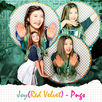 |Joy (RED VELVET)|PNG Photopack|By cookiesandtv| by cookiesandtv
