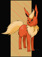 Flareon:. Ms Paint by Ashibix
