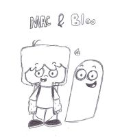 Mac and Bloo by uhnevermind