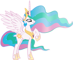 Celestia by MoongazePonies