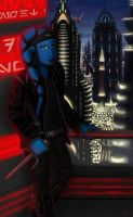 Coruscant Dusk by NitWhit
