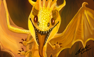 HTTYD Fireworm by puky1199