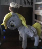 Derpy Hooves Plush by IrashiRyuu