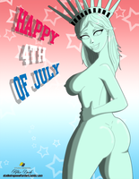 Sexy Lady Liberty -2015 by dragoonx77