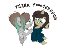 Thank You! by sararini