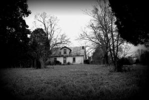 The House on the Hill by bluemangoimages