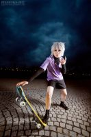 HUNTER x HUNTER : Killua cosplay by berylrion