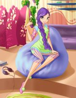 Winx club season 6 Tine pjama by fantazyme