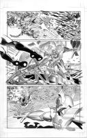 FEAR ITSELF HOMEFRONT4 Pg7 BW by mikemayhew