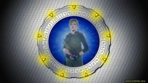Amanda Tapping Stargate Silver by Dave-Daring