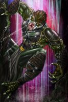 Reptile..Mortal kombat by Grapiqkad