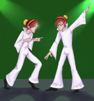 Weasley twins disco by uppuN
