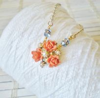 Floral Whispers Collection Necklace #1 by RetroRevivalBoutique