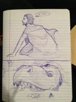 oh look, i can't draw t rexes by bishouen-satan