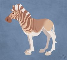 Daily Design: Quagga by sketchinthoughts