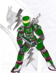 Master Chief Victortky Colour by victortky