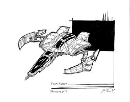 F-COM Star Fighter proto 4. by Atariboy2600