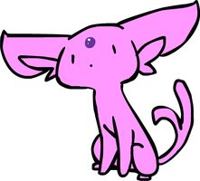 espeon derp by neutral-emotions