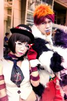 cosplay jake and kriem by Qkung