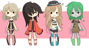 Mixed Adopts Auction~ Collab with Squagle {Closed} by Ruruuni
