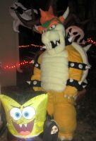 Bowser 2012 Costume by manamanson