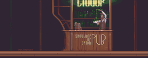 Shoulder of Orion Pub by orange-magik