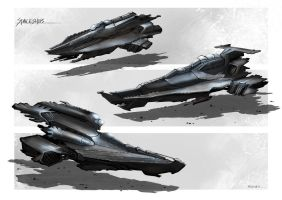 Spaceships by FlorentLlamas