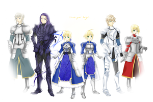 Knights of the Round Table by satanic-scarlet